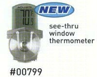 Digital Thermometer with Suction Cups-ACCURITE00799