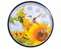 Sunflower Hummingbird Thermometer-ACCURITE01925