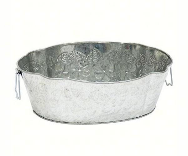 Galvanized Embossed Tub
