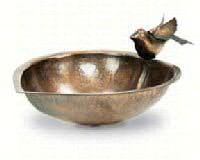 Heart Shaped Bird Bath-ACHLAHBB01