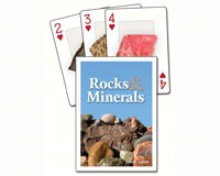 Rocks and Minerals Playing Cards-AP33137