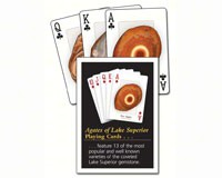 Agates of Lake Superior Playing Cards-AP33236