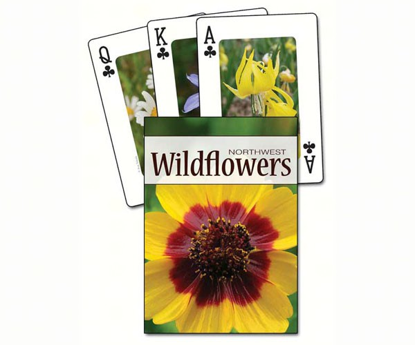 Wildflowers of the Northwest Playing Cards