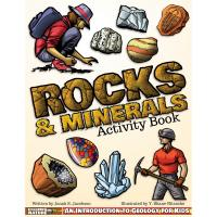 Rocks & Minerals Activity Book-AP47487