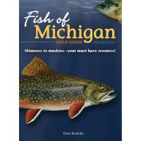 Fish of Michigan Field Guide 2nd Edition-AP50455