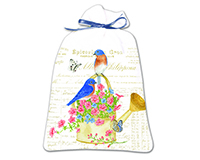 bluebirds Lavender Drawer Sachet-AC13497