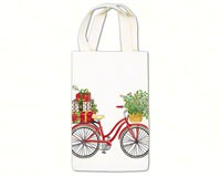 Holiday Bicycle Gourmet Gift Caddies-AC19335
