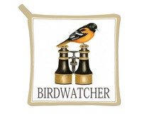 Birdwatcher Potholder-AC21499