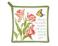 Became a Butterfly Potholder-AC21501