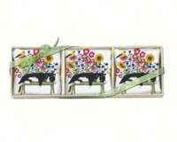 Cat on Bench Gift Boxed Lavender Sachets (3 pcs)-AC300444