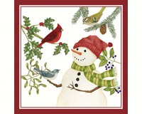 Snowman Flour Sack Towel (Set of 2)-AC34317