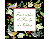 Home for the Holidays Flour Sack Towel (Set of 2)-AC34350