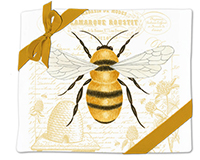Honey Bee Flour Sack Towel (Set of 2)-AC34492
