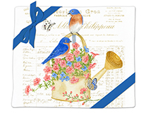 bluebirds Flour Sack Towel (Set of 2)-AC34497