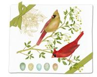 Cardinal Pair Flour Sack Towel-AC34503