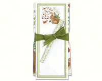 Nature's Gifts Flour Sack Towel & Magnetic Note Pad Set-ACU26323