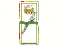 Santa Claus Flour Sack Towel & Magnetic Note Pad Set-ACU26336