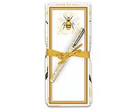 Honey Bee Flour Sack Towel & Magnetic Notepad-ACU26492