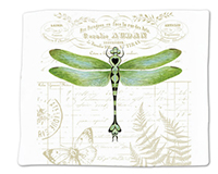 Dragonfly Single Flour Sack Towel-ACU34475