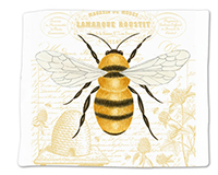 Honey Bee Single Flour Sack Towel-ACU34492