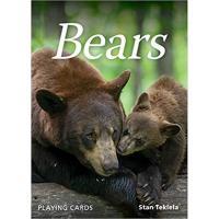 Playing Cards featuring bear photos by Stan Tekiela-AP39573