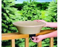 14 inch Non-Heated Bird Bath Deck/Pole-ALLIEDPR13B