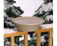 14 inch Bird Bath Deck/Pole Heated-ALLIEDPR14B