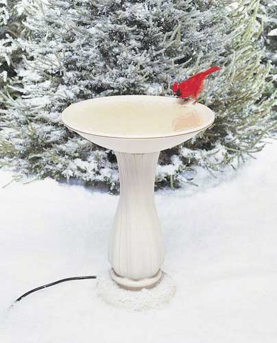 Pedestal and Bowl Heated