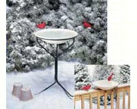 20 in. Heated Bird Bath withMetal Stand-ALLIEDPR970
