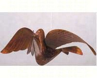 Peace Dove Flamed-ANCIENT60227