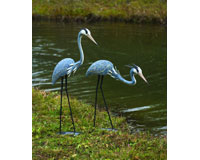 Pair of Steel Herons-ANCIENT919