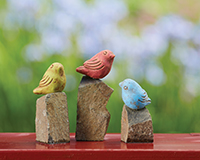 Mini Birds on Rocks-ANCIENTAG10247