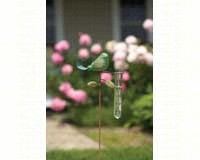 Bird Rain Gauge Teal-ANCIENTAG1186