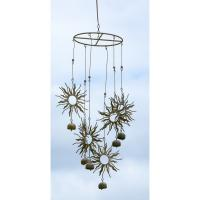 Hanging Sun Circle Flamed Finish Mobile-ANCIENTAG1472