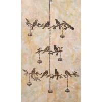 Tiered Birds with Bells Flamed Finish-ANCIENTAG1473