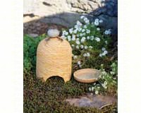 River Stone Toad House Yellow-ANCIENTAG17017