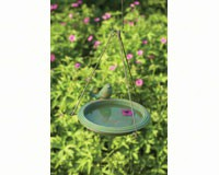 Bird Bath Teal Round Hanging-ANCIENTAG17026