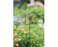 Snail Flamed Rain Gauge Staked-ANCIENTAG17134
