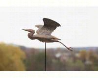 Heron Staked Flamed Copper-ANCIENTAG83220S