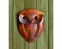 Solid Flamed Owl Wall Decor-ANCIENTAG83303