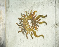 Sun Face Flamed Hanging 14