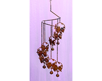 Flamed Owls Spiral Mobile-ANCIENTAG86009