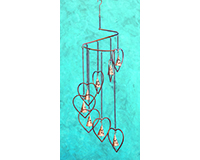 Hearts with Bells Spiral Mobile-ANCIENTAG86010
