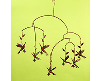 Flamed Hummingbird Mobile-ANCIENTAG86021