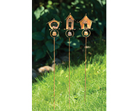 Bird Houses Garden Stake-ANCIENTAG86040