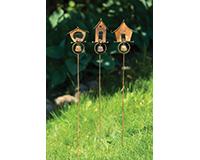 Bird Houses Garden Stake-ANCIENTAG86040