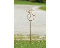 Dog withBell Stake-ANCIENTAG86055