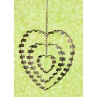 Hanging Concentric Heart Flamed Finish-ANCIENTAG86100