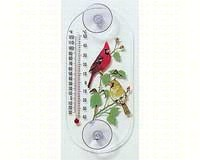 Cardinal Pair Window Thermometer-ASPECTS062