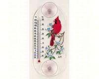 Cardinal/Dogwood Window Thermometer-ASPECTS193